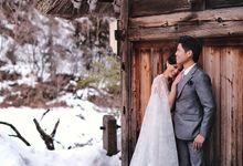 Prewedding of Adrian & Merry by Yumi Katsura Signature