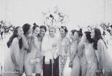 Clutch for bridesmaids Baim-Paula Wedding by Waiwai Clutch