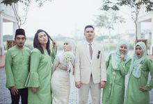 Nadya & Amirul Reception by zikrielive studio