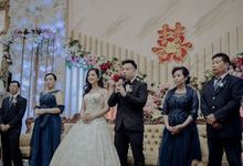 The Wedding Of Fransisca & Edi by Favor Brides