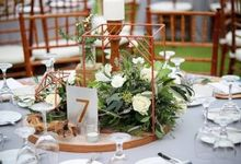 Industrial Rustic Wedding at The Ungasan Clifftop by Flora Botanica Designs