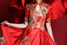 Camellia Empress Dress by Fenny Wong Indonesia