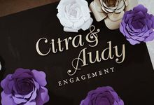 Black & Purple Theme Engagement by Clea's Project