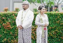Intimate Wedding Vian & Dias at Sentral Cawang by HR Team Wedding Group