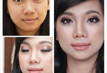 before after by felly makeupartist