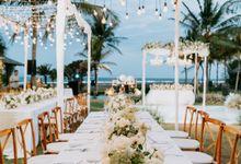 Wedding Decoration At Jeeva Saba Villa by d'Oasis Florist & Decoration
