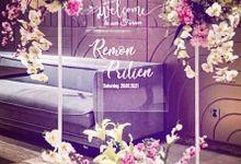 Intimate Wedding Dinner 2 by Bleubell Design