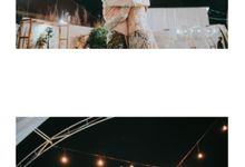 Intimate Outdoor Wedding Party by mataketiga.mariage
