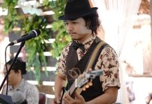 Ligar & Adlan Wedding At Pendopo Papuri by Josh & Friends Entertainment