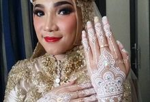 White Henna by Meby Henna Art