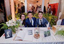 Solemnization / Reception Table / Wedding Venue Decoration by Petite Fleur SG