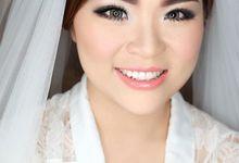 Wedding makeup for Marissa by Emily Surjo Makeup Artist