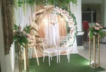 Wedding Danang & Suci by Kyukyu organzier