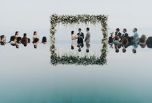 CA & Sebastian Wedding by THE UNGASAN CLIFFTOP RESORT BALI