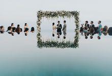 CA & Sebastian Wedding by THE UNGASAN CLIFFTOP RESORT BALI
