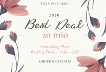 Filiapics 2020 Best Deal Promotion by Filia Pictures