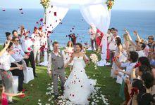 Bali Real Wedding - Rebecca & Daron by Bali Weddings Network