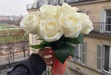 Bridal Hand Bouquet by Petite Fleur SG