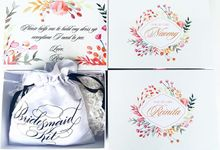 Bridesmaids Gift Box II by dydx Bride
