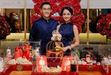 SANGJIT of JING FENG AND MARIANI by Clique Decoration