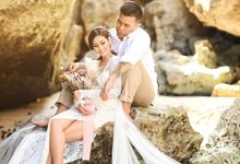 Bali Prewedding KENNETH x CHRISTHAN MUTHAN by Kenneth Bridal