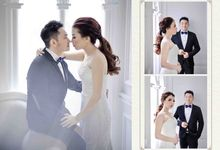 """Together with you is my favorite place to be."" ❤ by Gorgeous Bridal Jakarta"