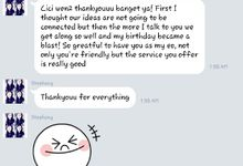 Testimonial by Bozza Event Organizer