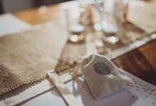 Jason and Maureen wedding dinner by Atelir KSS