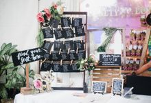 A Rustic & Pastel themed Wedding of College Sweethearts Camille & Carlo by Peach Frost Studio