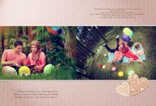 Pre Wedding Of Ayuni and Wawan by GRAINIC Creative Studio