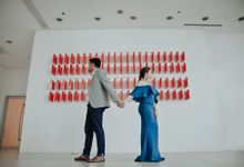 Nostalgic Engagement Shoot at La Salle Benilde Engagement by Marco Constantino