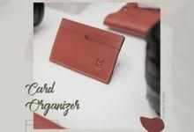 Card Organizer - room for 3 by McBlush Merchandise Service by Mcblush Merchandising Service