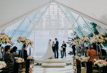 The Wedding of Larrie & Vivienne by BDD Weddings Indonesia