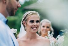 Sarah Aaron Wedding Hair & Makeup by DEA MUA