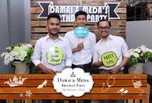 Damai & Medina birthday party by Netjes Photobooth