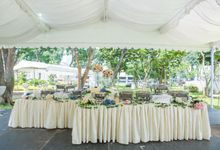 St Andrews Cathedral Wedding by Manna Pot Catering