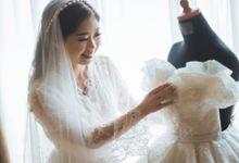 The Wedding of William & Claudia by Yumi Katsura Signature