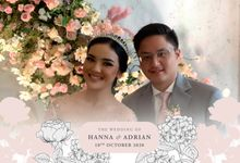 Wedding of Hanna & Andrian by The HoloGrail