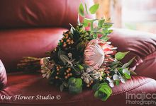 Megan & Sean by Our Flower Studio