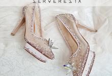 Listine Flower Crystal - Rosegold by SERVERESTA