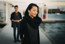Chiara & Gamma Surprise Proposal at St Kilda beach Melbourne by Feztography