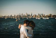 Gwenn & Chester Prewedding Melbourne by Feztography