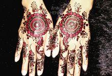 Ieta's Wedding by Arme Henna Art