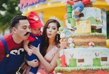 Mario 1st Birthday by Bonico Photobooth
