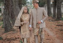 The Wedding Febry & Merlin by asmaraloka.picture