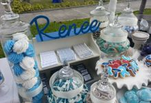 Beach Wedding theme set up by Sweet Nest Events