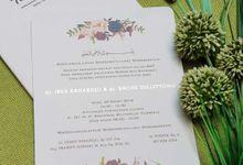 Irsa & Bagus by Vinas Invitation