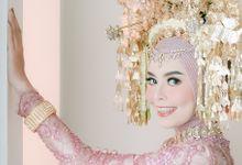 The Wedding of Naza & Fajrul by Sky Wedding Entertainment Enterprise & Organizer