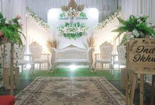 Wedding Indah & Ikhsan by Kyukyu organzier