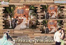 Grifiet & Russel Wedding by De Gallery Photobooth